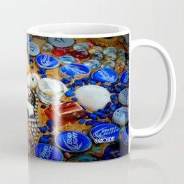 Azure Mosaic Coffee Mug
