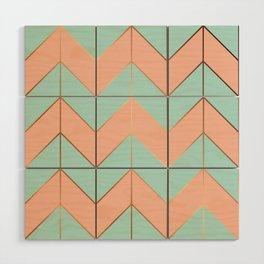 Marble Geometry 059 Wood Wall Art
