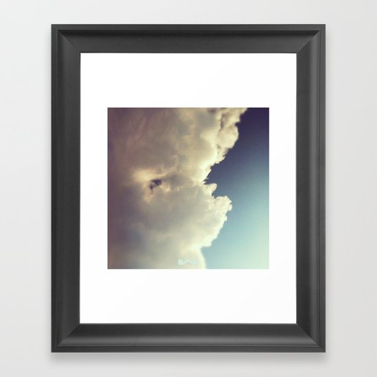 Afterthought. Framed Art Print