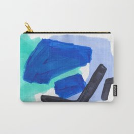 Ocean Torrent Whirlpool Teal Turquoise Blue Carry-All Pouch
