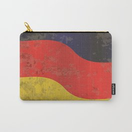 German Flag Grunge Carry-All Pouch