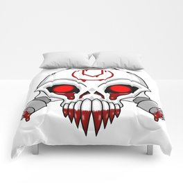 Cursed Chaos Skull Comforters