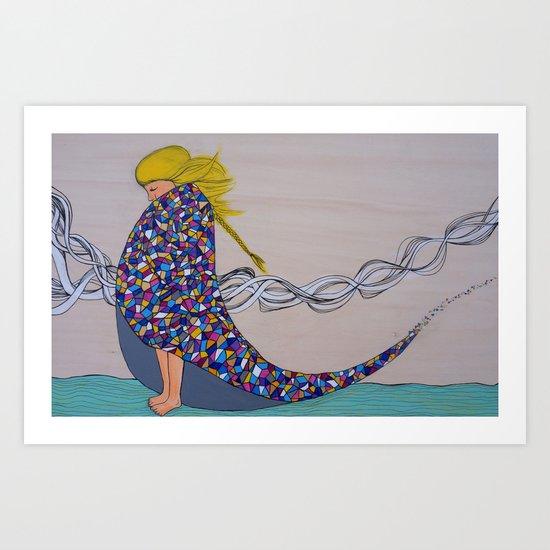 Morning Chill Art Print