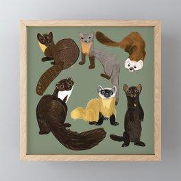 Martens of the World #1 Framed Mini Art Print