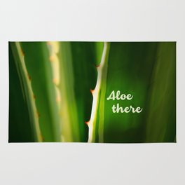 Aloe There Rug