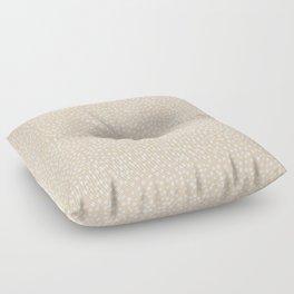 Little wild cheetah spots animal print neutral home trend warm honey yellow beige Floor Pillow