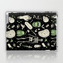 Whole Lotta Horror: BLK ed. Laptop & iPad Skin