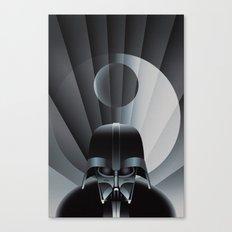 Deco Vader (design size 14x21) Canvas Print
