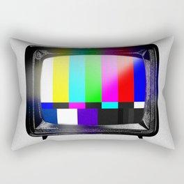 The Vintage Telly Rectangular Pillow