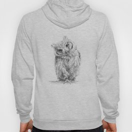 The Northern White-faced Owl  Hoody