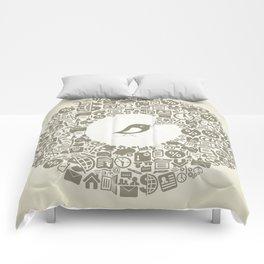 Bird business Comforters