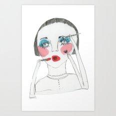 nenita loka 2 Art Print