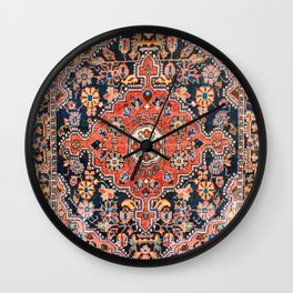 Djosan Poshti West Persian Rug Print Wall Clock