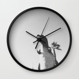 DINO / Cabazon Dinosaurs, California Wall Clock