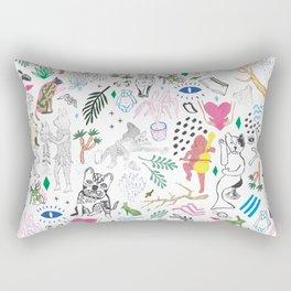 Mix it up yo Rectangular Pillow