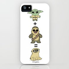 The origin of pugs iPhone (5, 5s) Slim Case