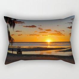 Australian Sanset Rectangular Pillow