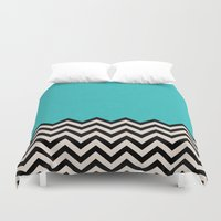 code Duvet Covers featuring Follow the Sky by Bianca Green