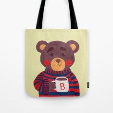 Winter Season is Coming (Bear Version) Tote Bag