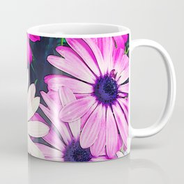 251 - Pink and White Flowers Coffee Mug