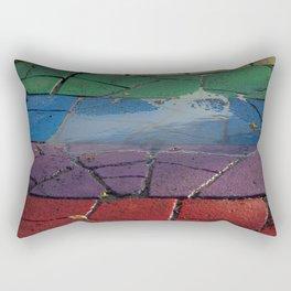 Street Paved with Raimbow Rectangular Pillow