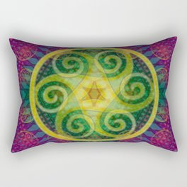 Ancient Harmony Rectangular Pillow
