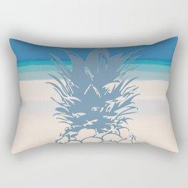 Pineapple Tropical Beach Design Rectangular Pillow