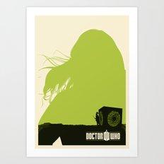 Amy Pond, Rory and Pandorica Art Print