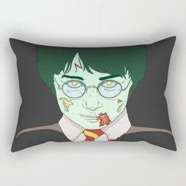 Zombie Boy Rectangular Pillow