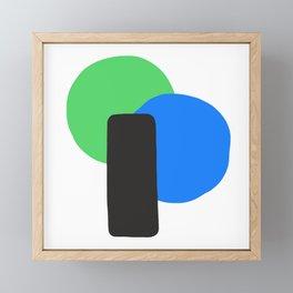 Cool Equilibrium Framed Mini Art Print