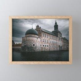 Vadstena Castle In Sweden Framed Mini Art Print