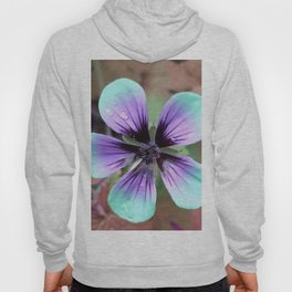 Candy Flower - Abstract Photography by Fluid Nature Hoody