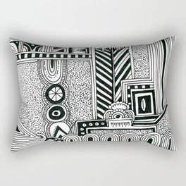 Systematic Chaos 9 Rectangular Pillow