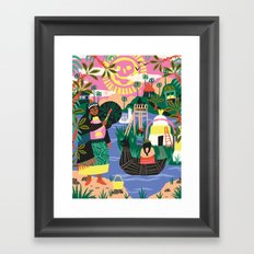 Latin Cultures Framed Art Print