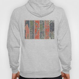 Six cities: NYC London Paris Berlin Rome Seville Hoody