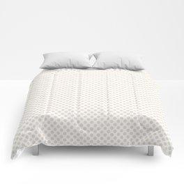 Eggnog Polka Dots Comforters