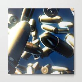 Bullets Metal Print