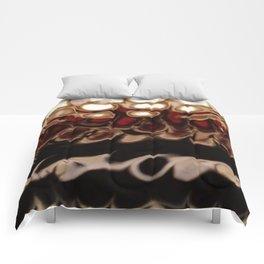 Christmas Cookie Dough Liquid Art Comforters