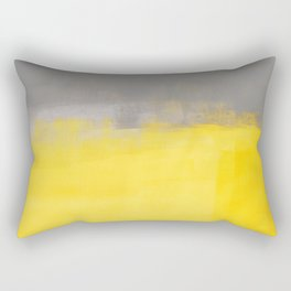 A Simple Abstract Rectangular Pillow