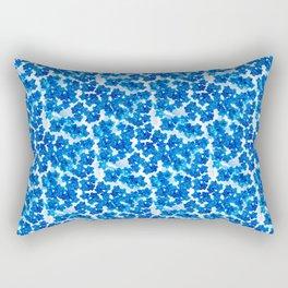 Forget-me-not Flowers White Background #decor #society6 #buyart Rectangular Pillow