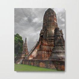 Wat Chaiwatthanaram Metal Print