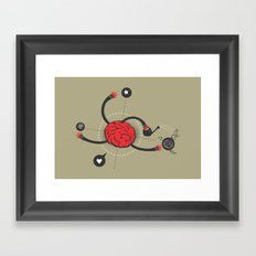 macro work Framed Art Print