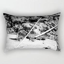 Black and White Beauty Rectangular Pillow