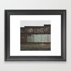Full/Empty Framed Art Print