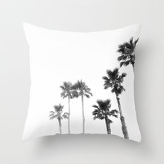 Tranquillity - bw Throw Pillow