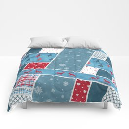 Christmas Decoration Comforters