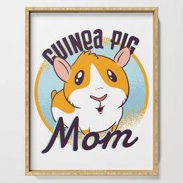 GUINEA PIG MOM ART DESIGN Serving Tray
