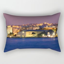 Thessaloniki Nights Rectangular Pillow