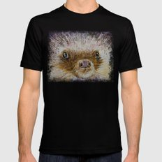 Hedgehog Black Mens Fitted Tee MEDIUM
