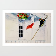 Fierté Acadienne Art Print